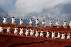 люди танцульки Стоковое Фото