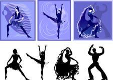 люди танцульки Стоковые Изображения RF