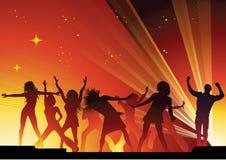люди танцы Стоковое Изображение RF