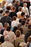 люди толпы Стоковые Изображения RF