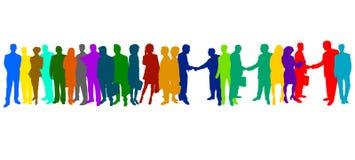 люди цвета дела Стоковое фото RF