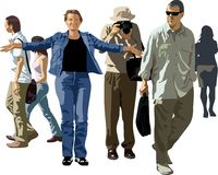 люди Стоковое Фото
