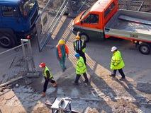 люди buildingplace Стоковые Фотографии RF