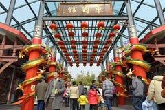 люди chinatown счастливые стоковые изображения rf