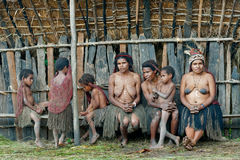 Люди dani Dugum Стоковые Фото