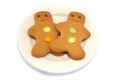 люди gingerbread покрывают 2 Стоковое фото RF