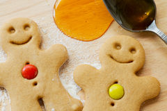 люди gingerbread Стоковое фото RF
