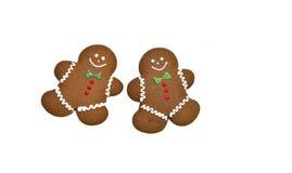 люди gingerbread Стоковое Изображение