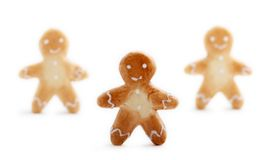 люди gingerbread Стоковое Изображение RF