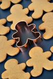 люди gingerbread Стоковые Изображения RF