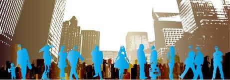 люди grunge урбанские иллюстрация штока