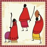 люди masai иллюстраций бесплатная иллюстрация