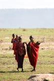 люди masai Стоковое Изображение RF
