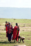 люди masai Стоковое Фото