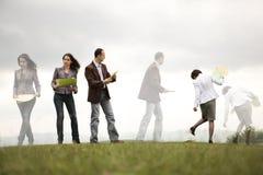 люди outdoors дела многодельные Стоковое Фото