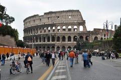 люди rome Италии colosseum Стоковое фото RF