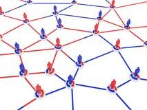 людская сеть Стоковая Фотография