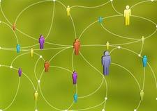 людская сеть Стоковые Изображения RF