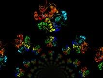 людские модели инсулина Стоковая Фотография RF