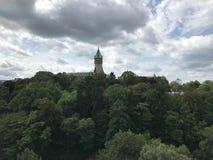 Люксембург рокирует стоковые фотографии rf