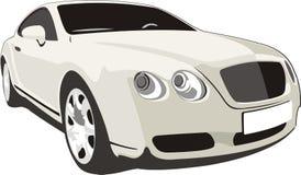 люкс автомобиля иллюстрация штока