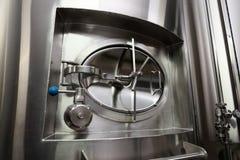 Люк -лаз танка пива стоковое фото rf