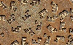 Люк металла Стоковая Фотография RF