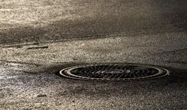 Люк Canalization Стоковая Фотография