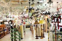 Люминеры в магазине Стоковое Изображение RF