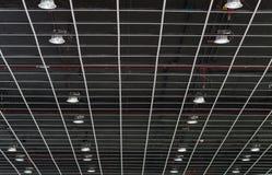 Люминесцентная лампа на потолке Стоковое Изображение RF