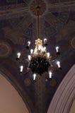 Люстра в церков Стоковая Фотография RF
