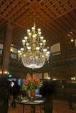 Люстра на Гостинице del Coronado Стоковая Фотография