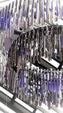 Люстра хрома Стоковое Изображение RF