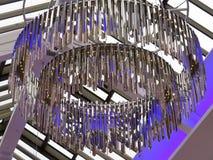 Люстра хрома Стоковые Изображения RF