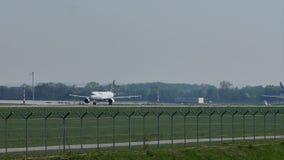 Люфтганза, новый самолет ливреи, принимая  акции видеоматериалы