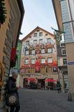 Люцерн, столица кантона Люцерна, центральной Швейцарии, Европы Стоковая Фотография