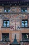 Люцерн, столица кантона Люцерна, центральной Швейцарии, Европы Стоковые Изображения