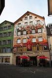 Люцерн, столица кантона Люцерна, центральной Швейцарии, Европы Стоковые Фотографии RF