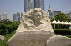 Людвиг ван Бетховен Qingdao Китай Стоковое Изображение