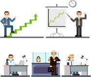Люди бизнесмена в офисе Стоковая Фотография RF