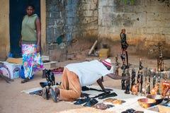 Люди в БАНЖУЛЕ, ГАМБИИ Стоковые Изображения