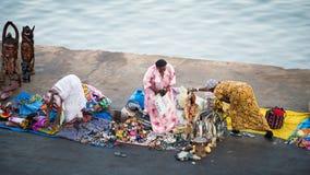 Люди в БАНЖУЛЕ, ГАМБИИ Стоковая Фотография