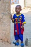 Люди в БАНЖУЛЕ, ГАМБИИ стоковая фотография rf