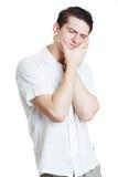 Люди в боли зуба Стоковая Фотография RF