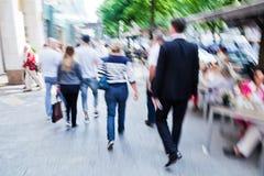 Люди в городе Стоковая Фотография