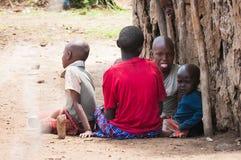 Люди в Кении Стоковое Изображение