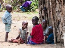 Люди в Кении Стоковая Фотография