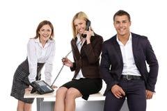 Люди в офисе Стоковая Фотография RF