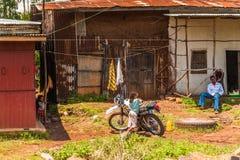 Люди в Эфиопии Стоковые Фотографии RF