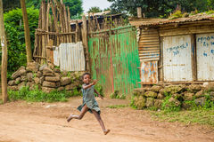 Люди в Эфиопии Стоковые Изображения